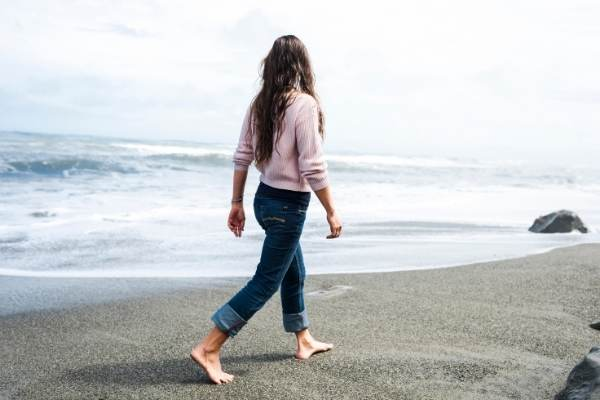 Benefits of barefoot walking