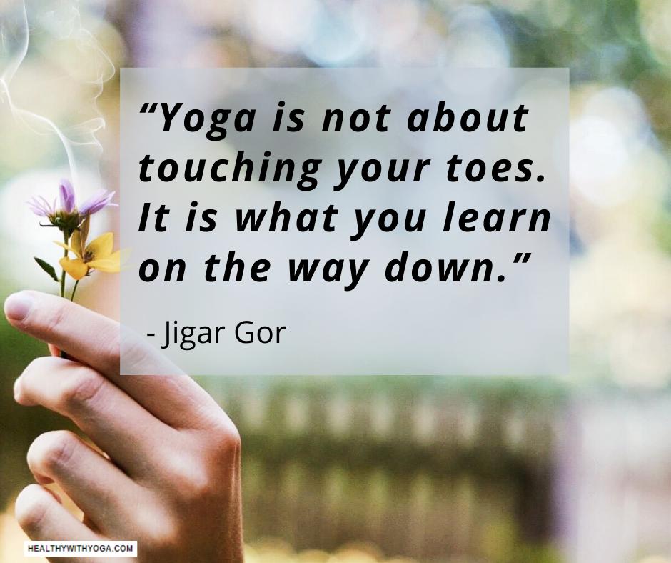 Jigar Gor Yoga wisdom
