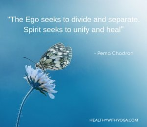 Pema Chodron about Life and Ego