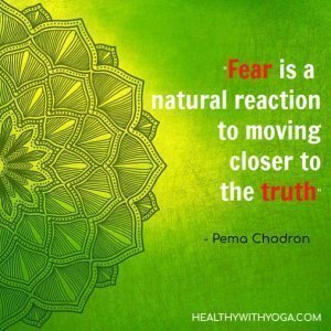 Quote About Fear Of The Truth