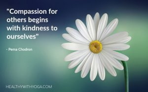 Kindness to ourselves quote