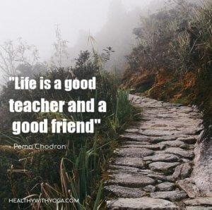 Life Is A Good Teacher And Friend