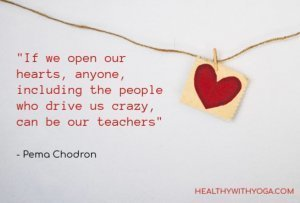 Open Your Heart Saying