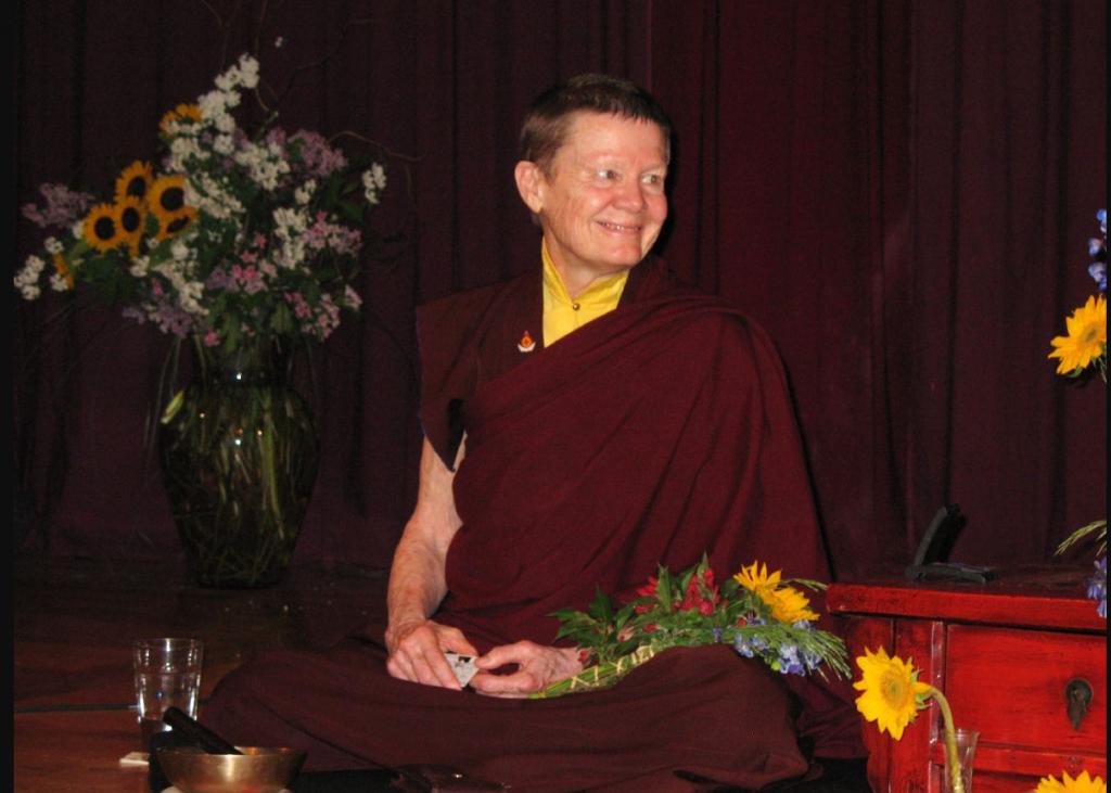 Pema Chodron Teaching