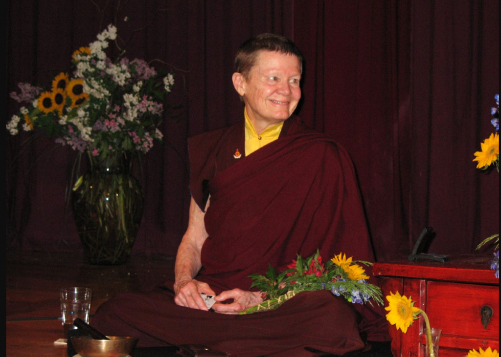Pema Chodron Teaching