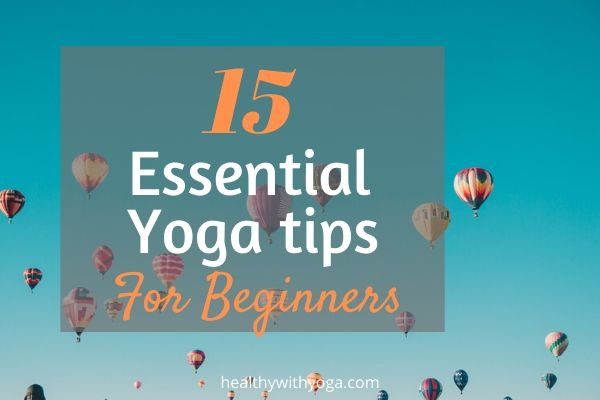 Yoga tips for beginners
