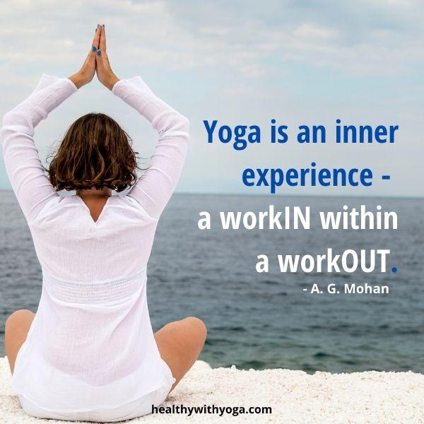 Yoga inspiration quote 1