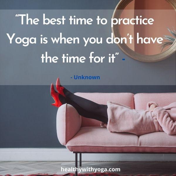 Inspiration for Yoga
