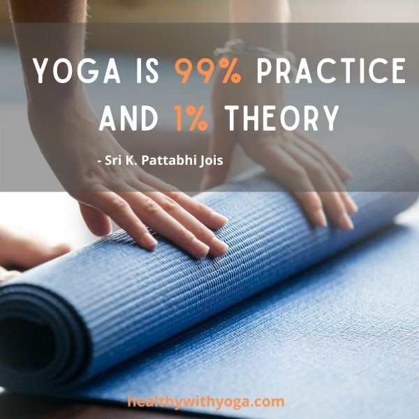 Inspiration for Yoga practice 1