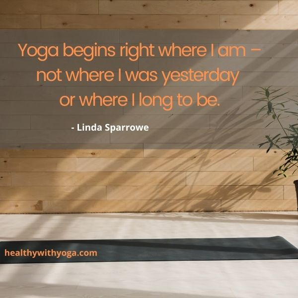 quote about yoga inspiratione