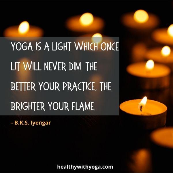 Find inspiration for yoga